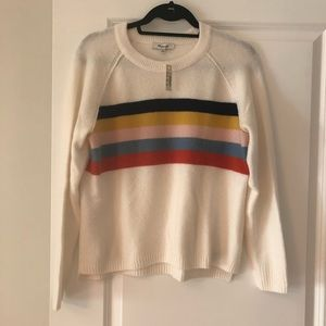 Madewell Rainbow Sweater